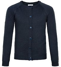 The New Cardigan - Strik - Aya - Navy Glitter