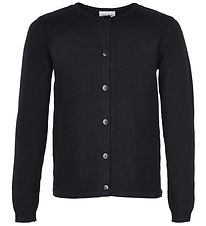 The New Cardigan - Basic - Sort Strik