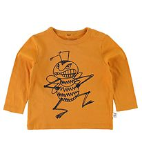 Stella McCartney Kids Bluse - Orange m. Bi