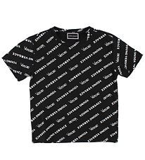 Young Versace T-shirt - Sort m. All Over Print
