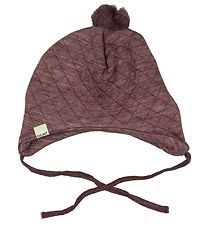CeLaVi Hjelm - Uld/Lyocell - Quilted - Bordeaux