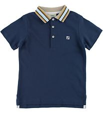 Fendi Kids Polo - Navy