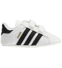 adidas Originals Hjemmesko - Superstar Crib - Hvid/Sort