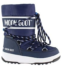 Moon Boot Vinterstøvler - Tex - We Sport Jr - Navy