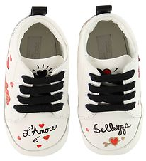 Dolce & Gabbana Skindfutter - Sneakers - Hvid m. Print