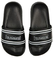 Hummel Badesandaler - Pool Slide - Sort