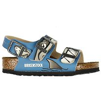 Birkenstock Sandaler - Milano - Lovely Shark Blue