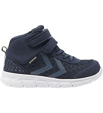 Hummel Sko - Crosslite Mid Tex Jr - Black Iris