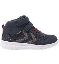 Hummel Sko - Crosslite Mid Tex Jr - Graphite
