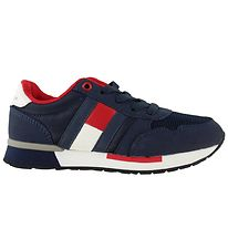 Tommy Hilfiger Sko - Low Cut Lace-Up - Navy