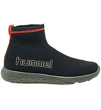 Hummel Sko - Terrafly Sock Runner Camo Jr - Sort