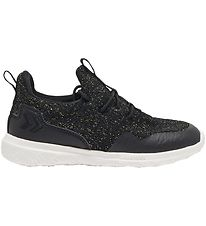 Hummel Sko - Actus Trainer Glitter JR - Sort