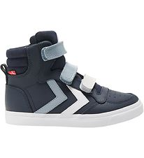Hummel Sko - Stadil Pro Jr - Black Iris/Ashley Blue