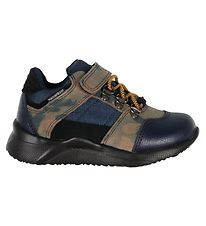 Woden Sko - Ellis Waterproof Sneak - Navy