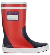 Aigle Gummistøvler - Al Lolly Pop - Rouge/Indigo