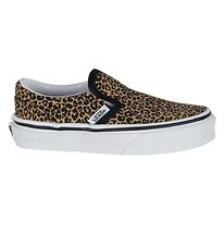 Vans Sko - Classic Slip-On - Leopard/Black