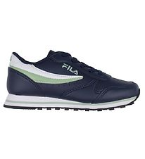 Fila Sko - Orbit Kids - Navy/Silt Green