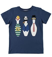 Fendi Kids T-shirt - Navy m. Kegler