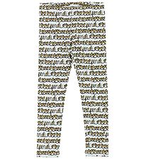 Fendi Kids Leggings - Lyseblå m. Hjerter