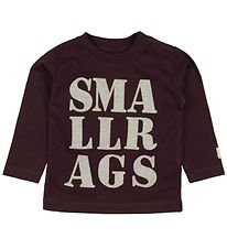 Small Rags Bluse - Grape m. Print