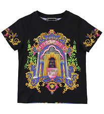 Young Versace T-shirt - Sort m. Print