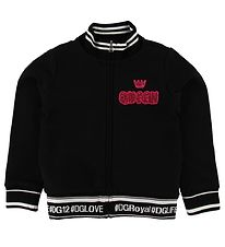 Dolce & Gabbana Cardigan - Sort m. Patches