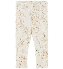 Soft Gallery Leggings - Paula - Mini Splash - Creme