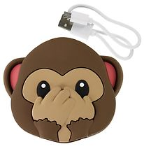 Moji Power Powerbank - Monkey Double Face - 2600mAh