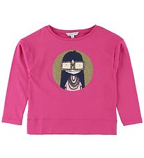 Little Marc Jacobs Bluse - Fuchsia m. Pige