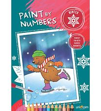 Paint By Numbers Malebog - Vinter