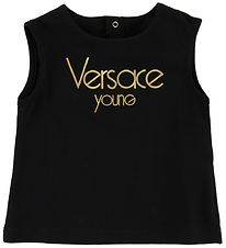 Young Versace Top - Sort m. Guld