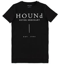 Hound T-shirt - Sort m. Logo