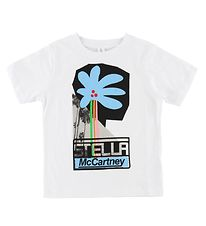 Stella McCartney Kids T-shirt - Hvid m. Palmer