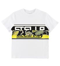 Stella McCartney Kids T-shirt - Hvid m. Blade