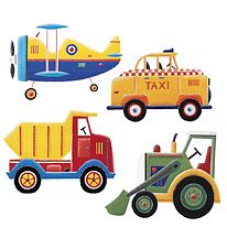 Room mates Wallstickers - Transport
