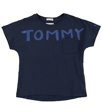 Tommy Hilfiger T-shirt - Navy m. Tommy