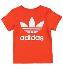 adidas Originals T-shirt - Trefoil - Varm Orange