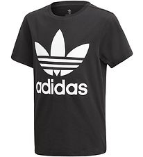 adidas Originals T-shirt - Trefoil - Sort