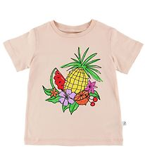 Stella McCartney Kids T-shirt - Rosa m. Frugt