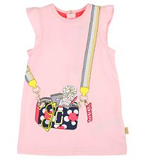 Little Marc Jacobs Kjole - Sweat - Rosa m. Taske