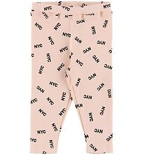 Petit by Sofie Schnoor Leggings - Lyserød m. NYC