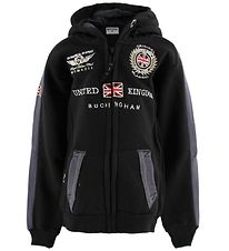 Geographical Norway Cardigan - Gastaldo - Black