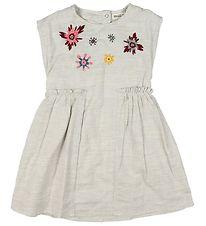 f9dd745045a4 Small Rags Kjole - Crememeleret m. Glimmer Ansigt - Køb online