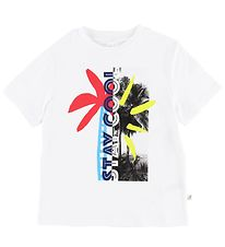 Stella McCartney Kids T-shirt - Hvid m. Print