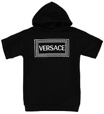 Young Versace Kjole - Sweat - Sort m. Logo