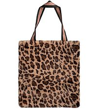 Petit by Sofie Schnoor Shopper - Faux Fur - Brun Leo