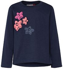 Lego Wear Bluse - Thelma - Navy m. Blomster
