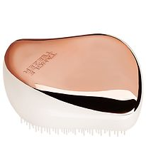 Tangle Teezer Hårbørste - Compact Styler - Rose Gold Ivory