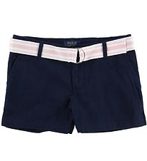 Polo Ralph Lauren Shorts - Navy m. Rosa