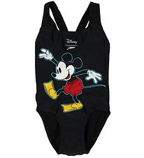 Speedo Badedragt - UV50+ - Mickey Mouse - Sort